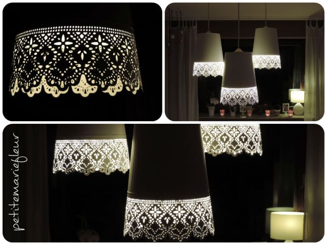 diy lampe aus blument pfen petite marie fleur. Black Bedroom Furniture Sets. Home Design Ideas